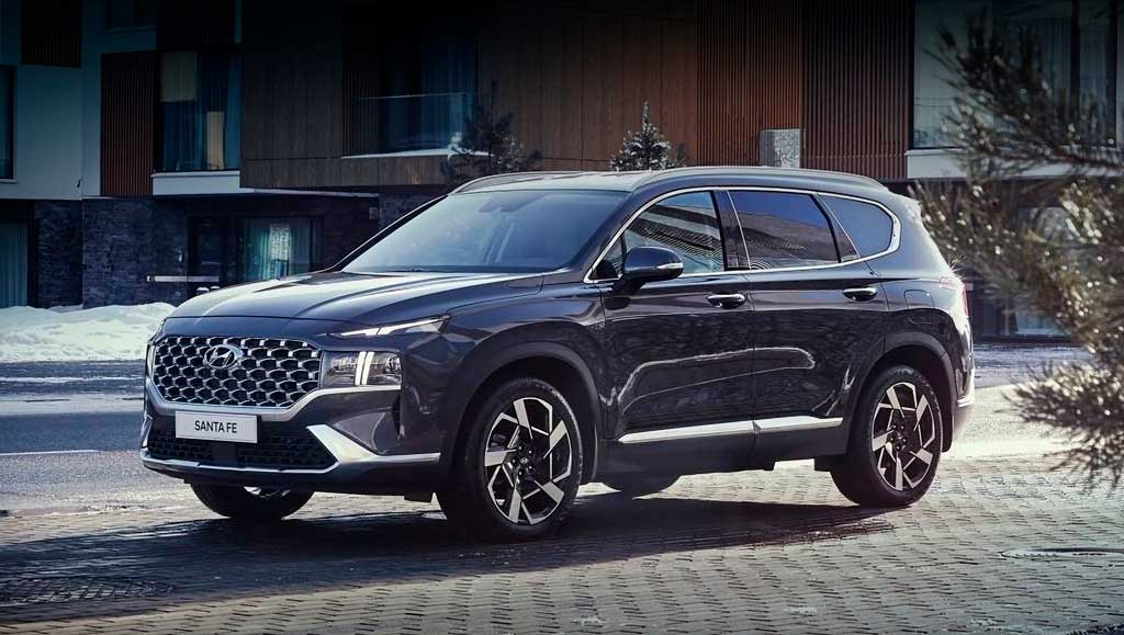 Кроссовер Hyundai Santa Fe 2021
