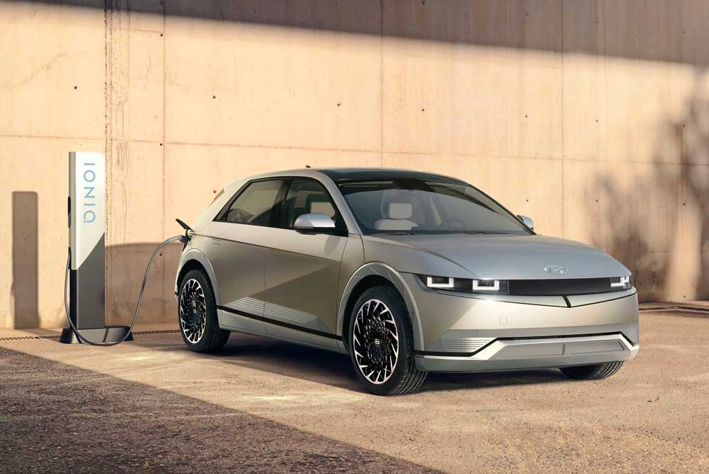 Электрический кроссовер Hyundai IONIQ 5 2022