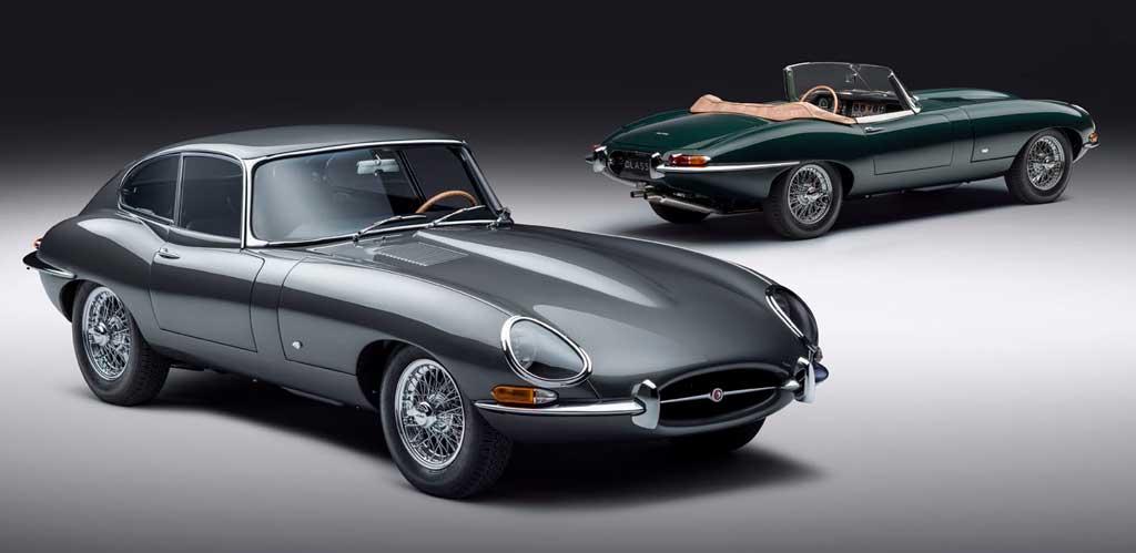 Юбилейные купе и родстер Jaguar E-type 60 Collection
