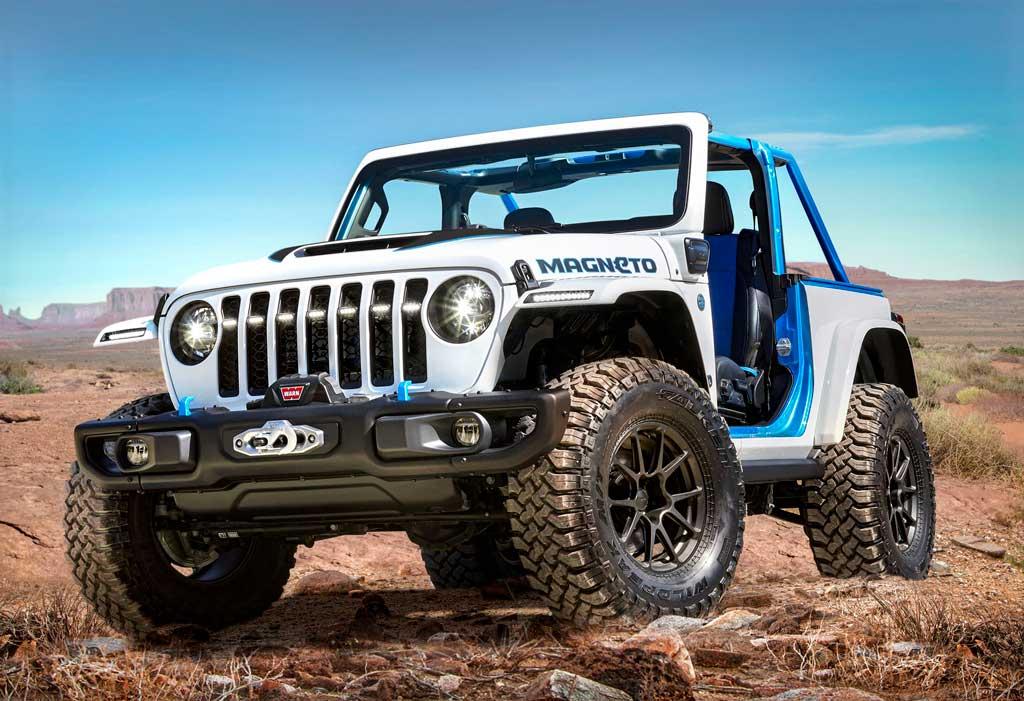 Электрический внедорожник Jeep Magneto