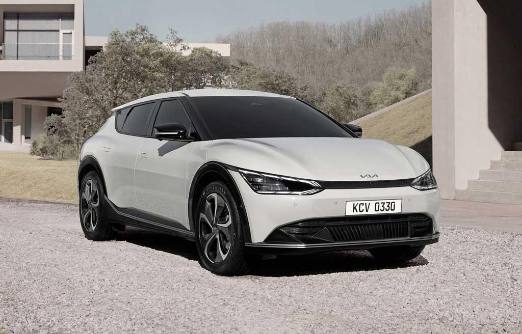 Электрический кроссовер Kia EV6 2022