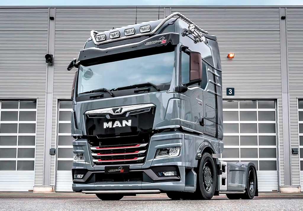 Новый грузовик MAN TGX Individual Lion S 2021