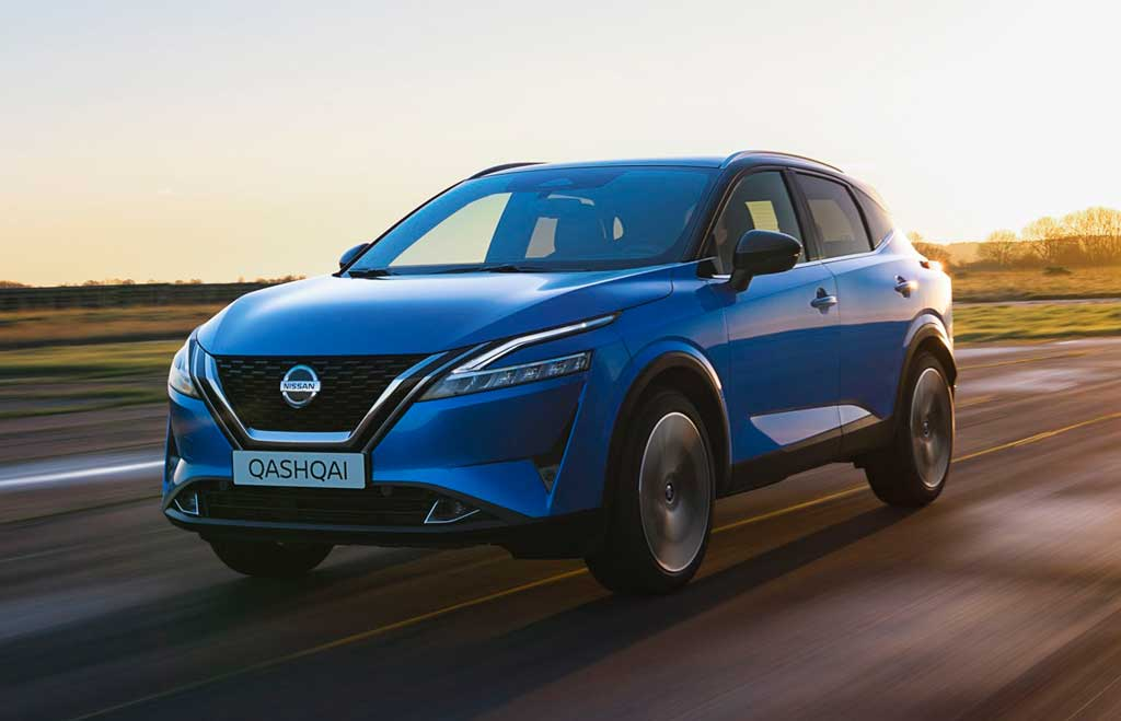 Кроссовер Nissan Qashqai 2022 третьего поколения