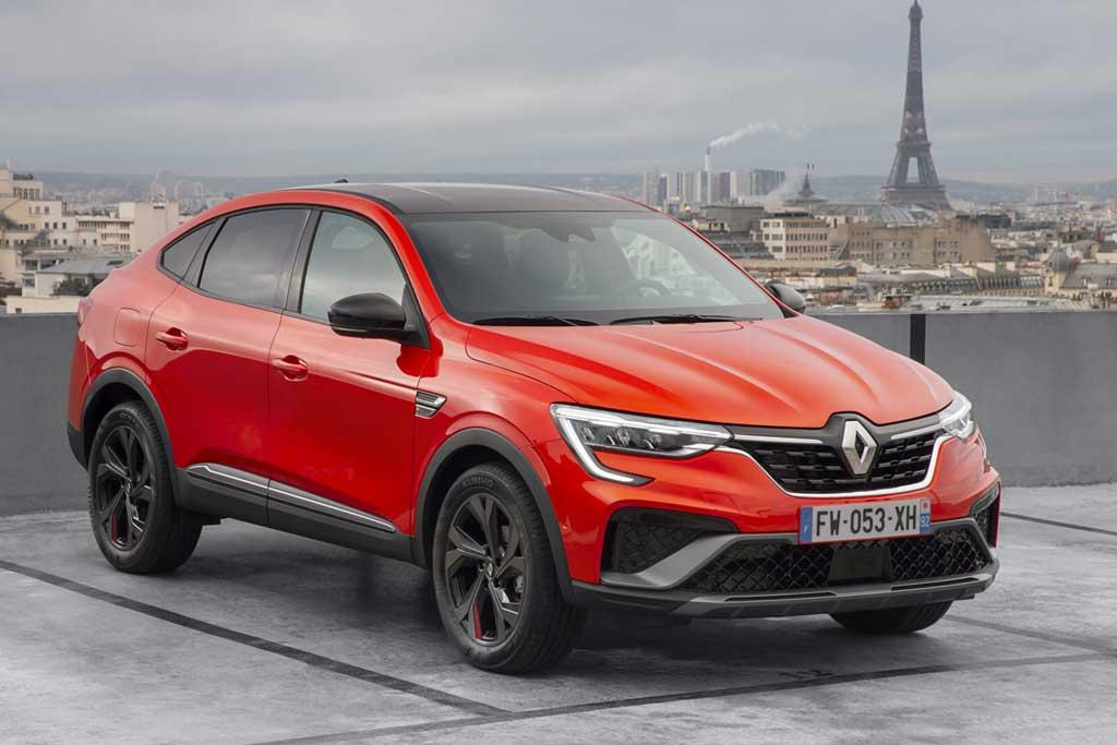 Кроссовер Renault Arkana для Европы