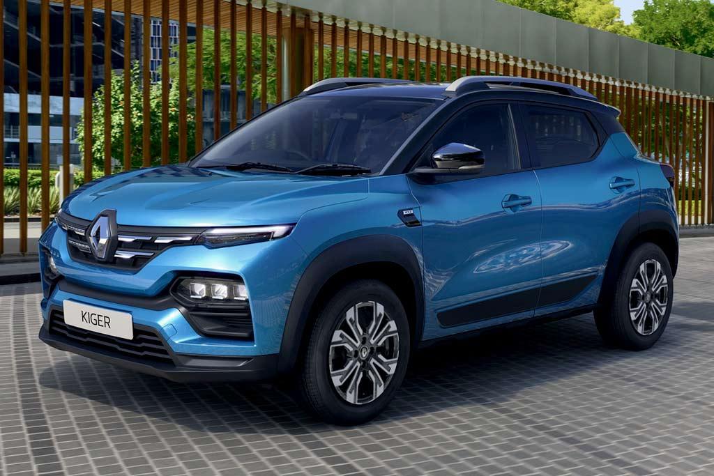 Компактный кроссовер Renault Kiger 2021