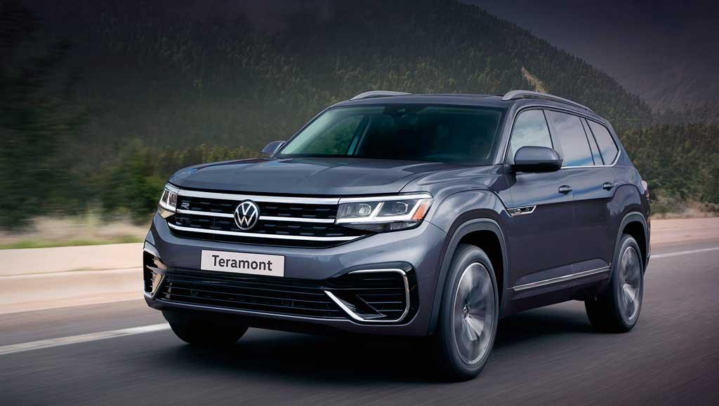 Кроссовер Volkswagen Teramont 2021 для России