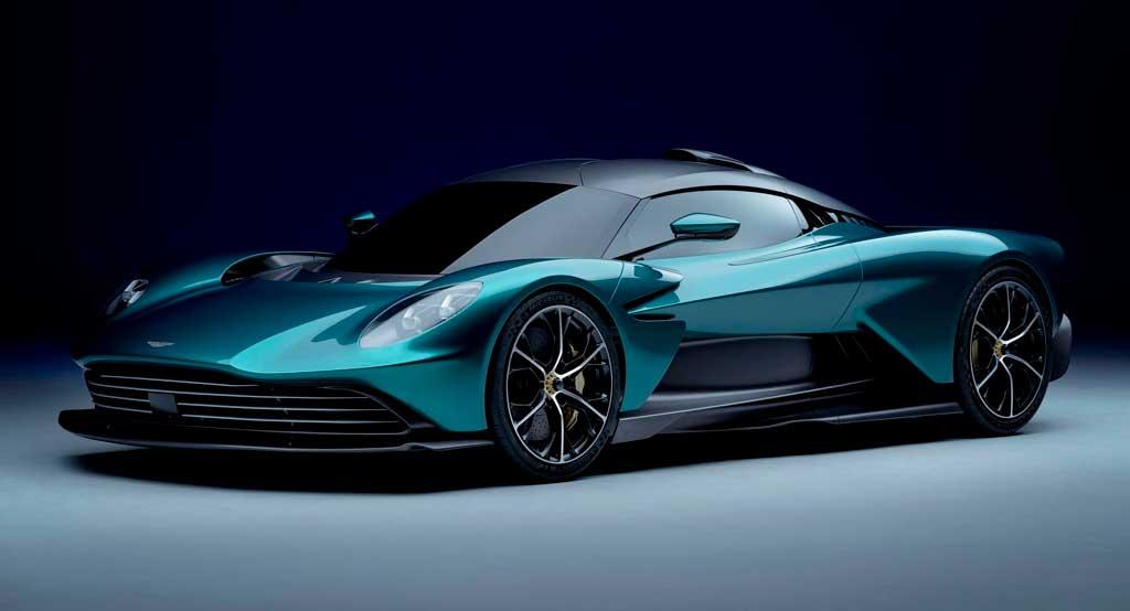 Гибридный гиперкар Aston Martin Valhalla 2022