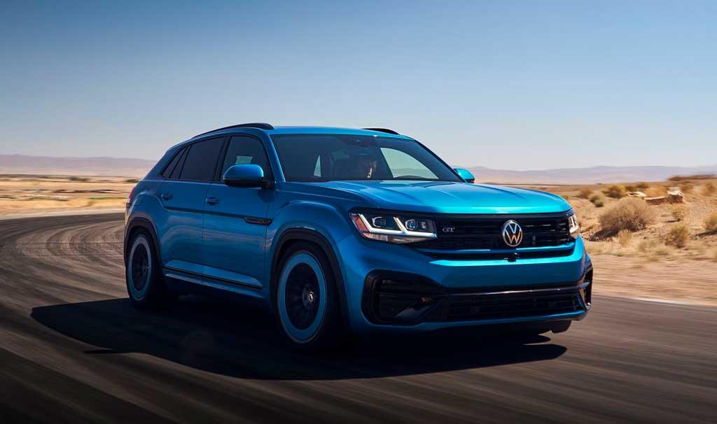 Спортивный внедорожник Volkswagen Atlas Cross Sport GT Concept 2022