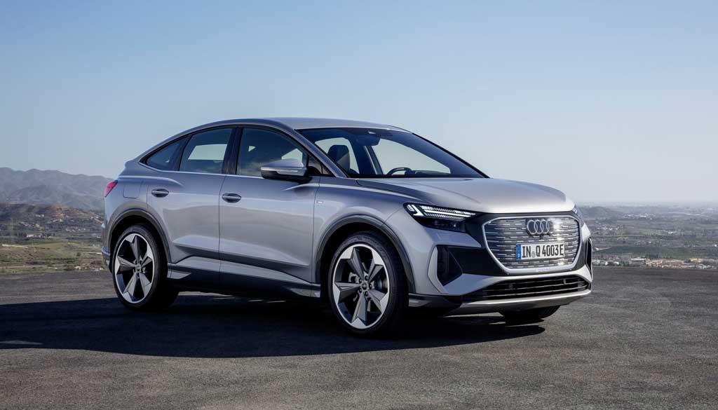 Электрический Audi Q4 sportback e-tron 2022