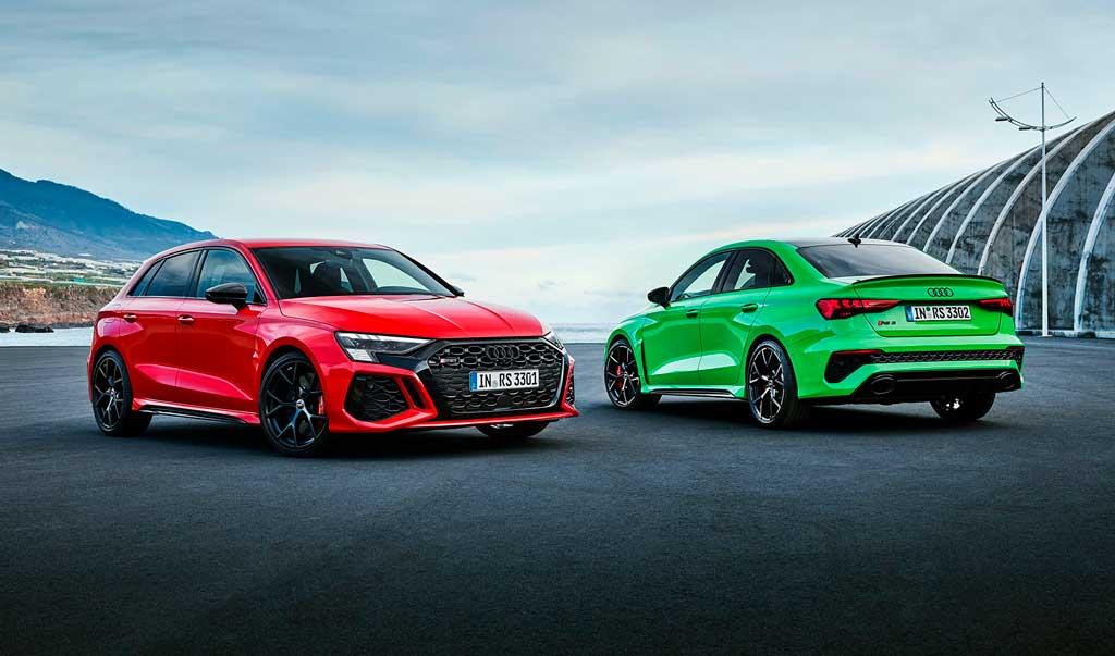 Седан и спортбек Audi RS 3