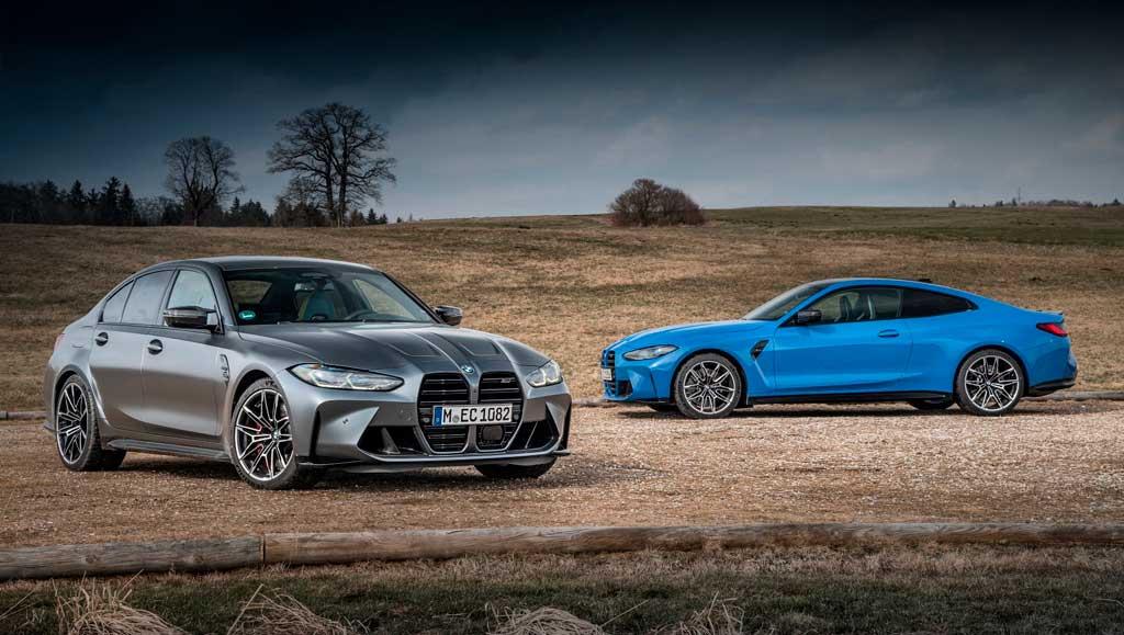 Седан и купе BMW M3 и M4