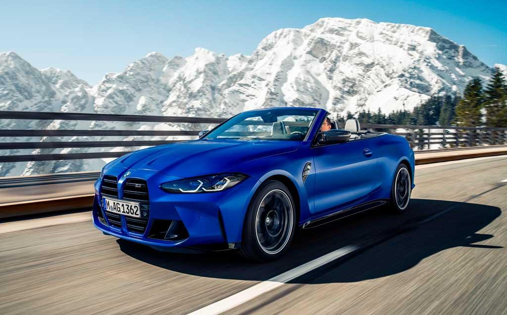 Кабриолет BMW M4 Competition 2022