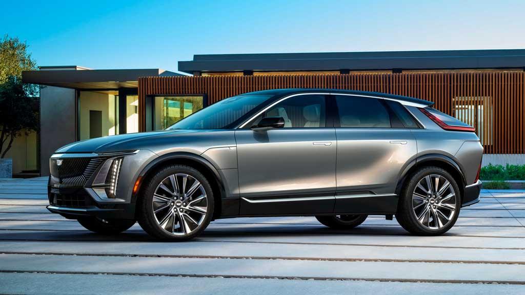 Электрический кроссовер Cadillac LYRIQ 2023