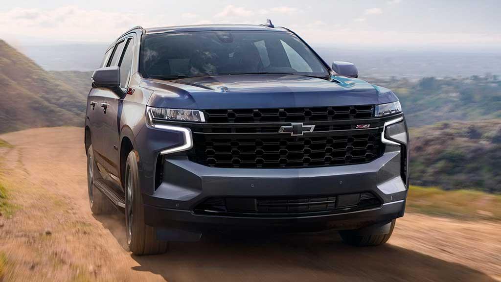 Внедорожник Chevrolet Tahoe 2021 с ценой и комплектациями для России