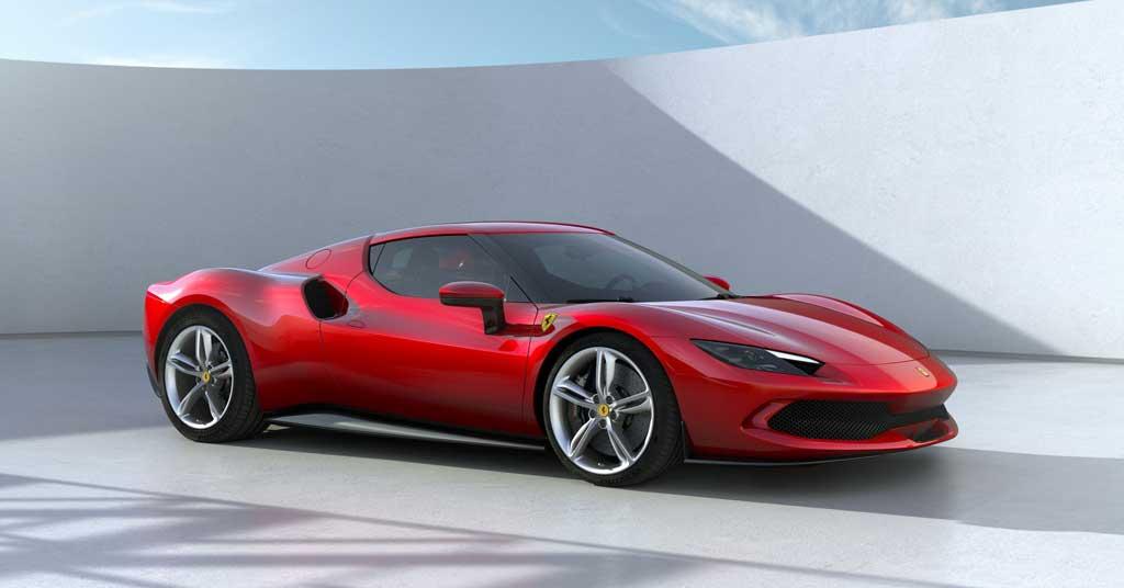 Купе Ferrari 296 GTB 2022