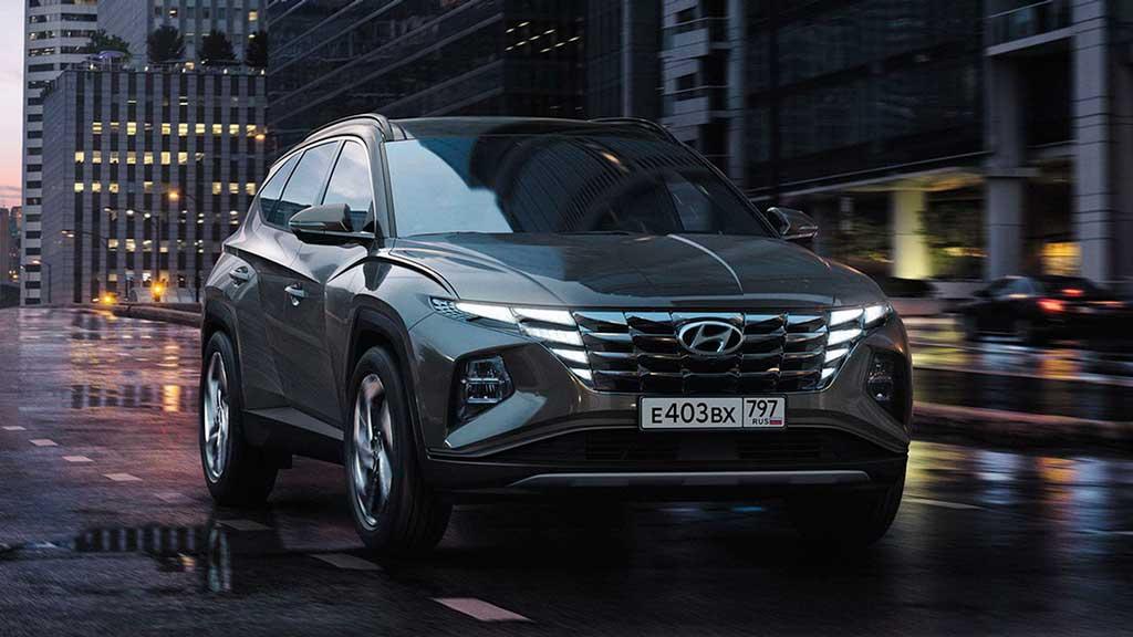 Кроссовер Hyundai Tucson 2021 четвертого поколения