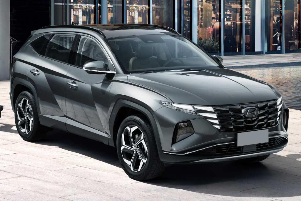 Кроссовер Hyundai Tucson 4 поколения