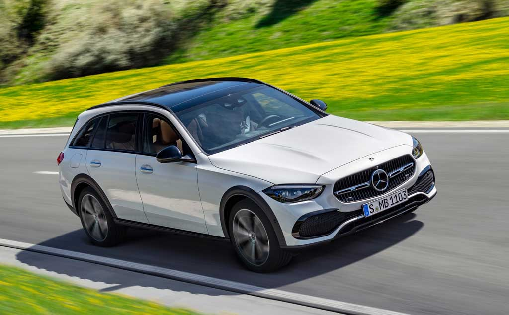 Вседорожный универсал Mercedes C-Class All-Terrain 2022