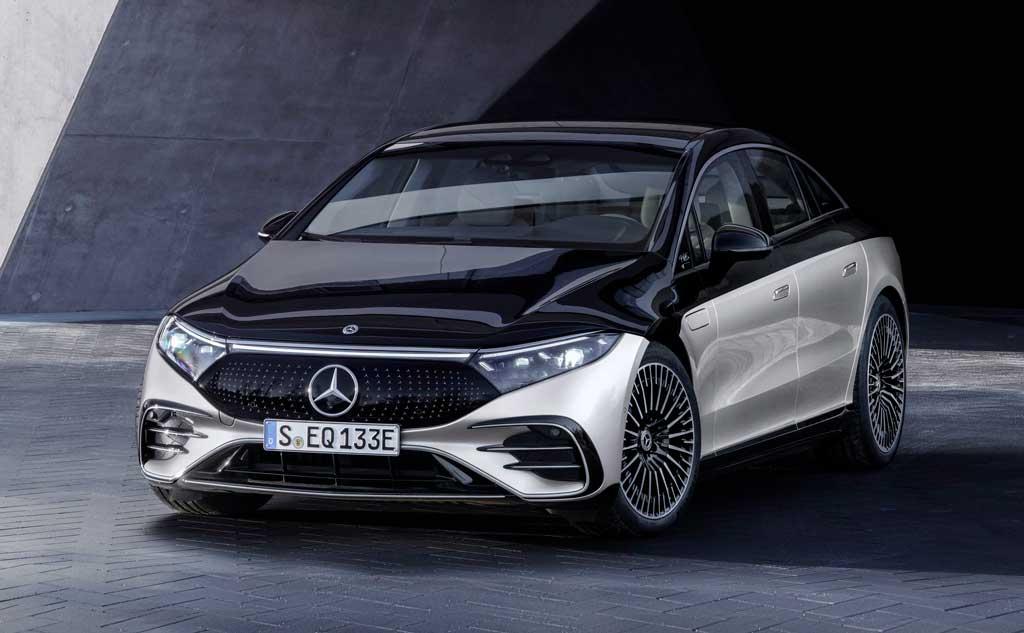 Электрический лифтбек Mercedes-Benz EQS 2022