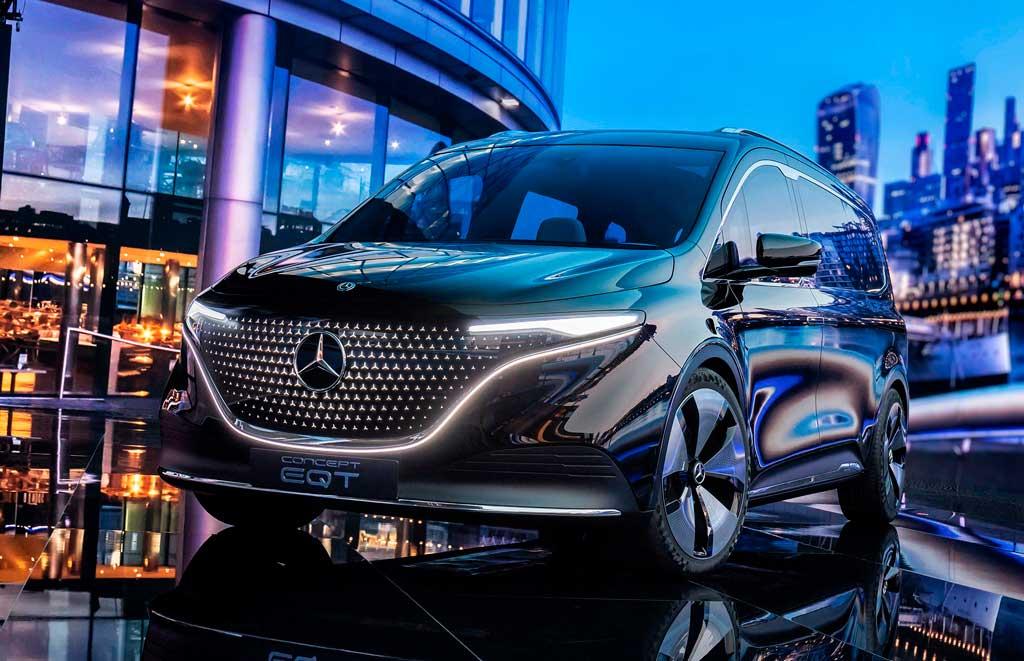Компактвэн Mercedes EQT Concept 2022