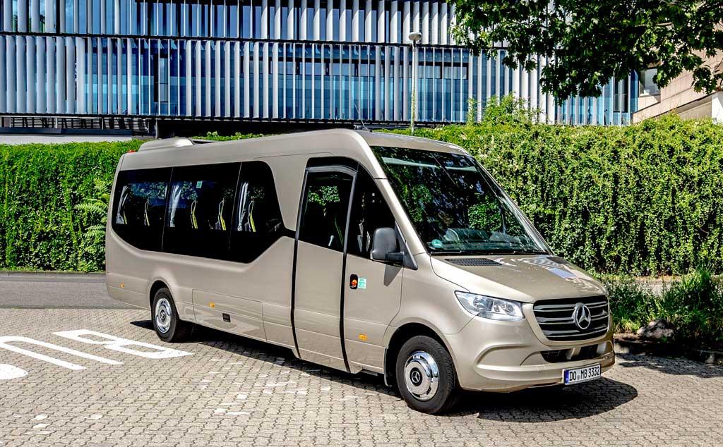 Новый микроавтобус Mercedes Sprinter Travel 75 2022