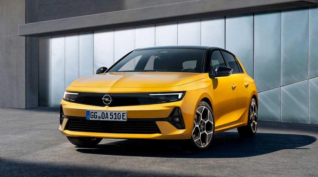 Хэтчбек Opel Astra 2022 шестого поколения