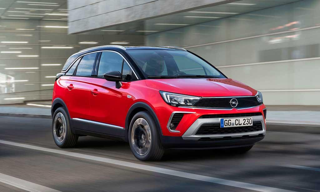 Хэтчбек Opel Crossland 2021