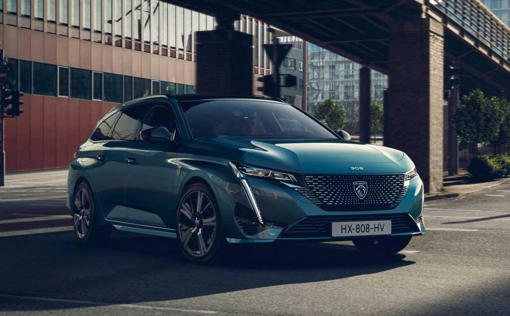 Универсал Peugeot 308 SW 2022 нового поколения