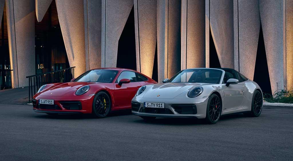 Купе и кабриолет Porsche 911 GTS 2022