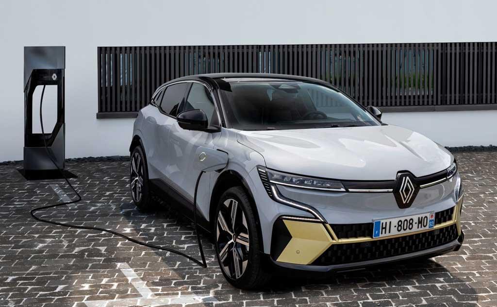 Электрический кроссовер Renault Megane E-Tech Electric 2022