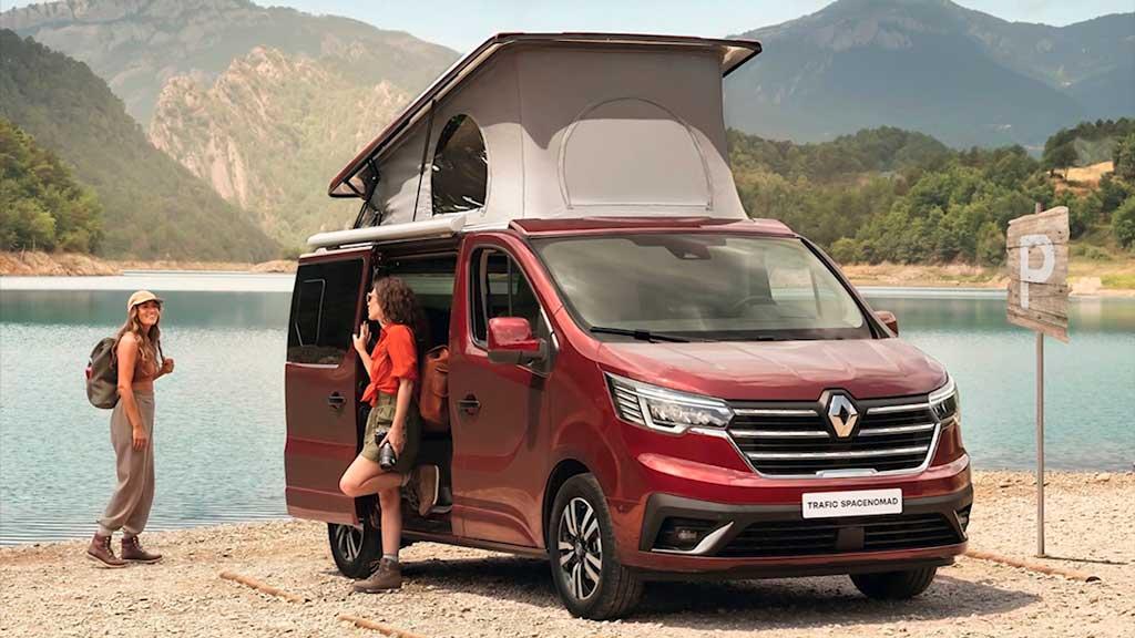 Кемпер Renault Trafic Space Nomad Camper Van 2022