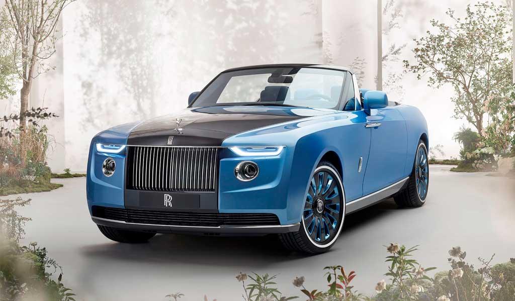 Кабриолет Rolls-Royce Boat Tail