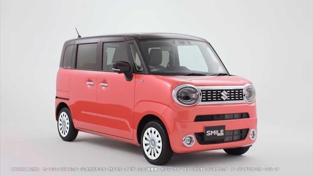 Новый микроавтобус Suzuki Wagon R Smile 2022