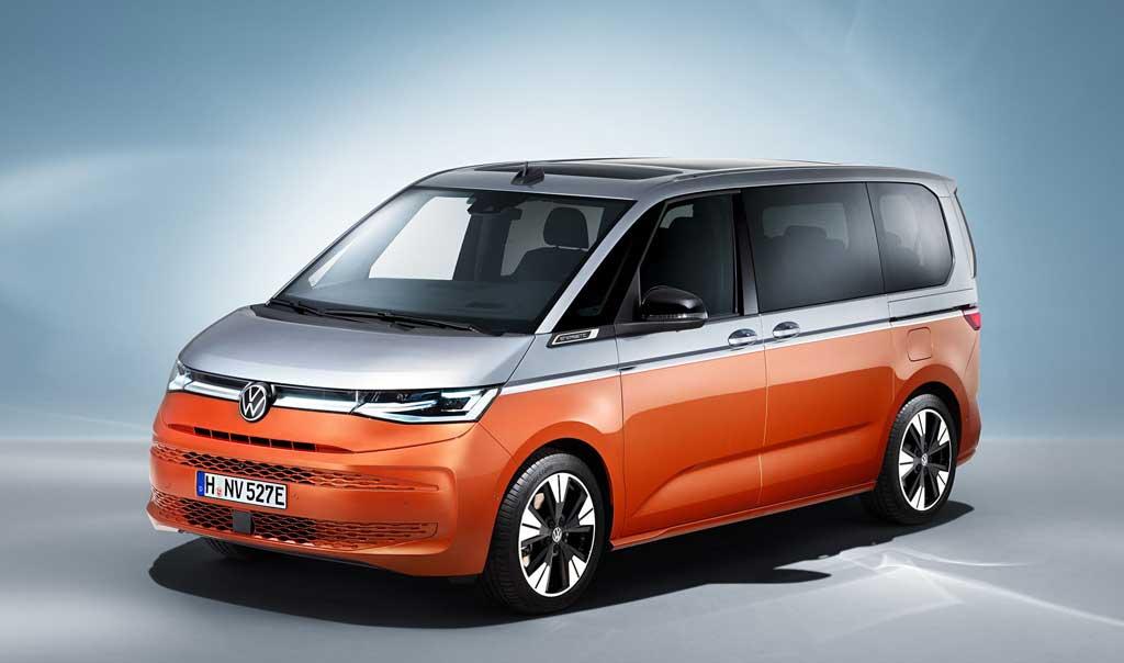 Коммерческий минивэн Volkswagen Multivan T7 2022