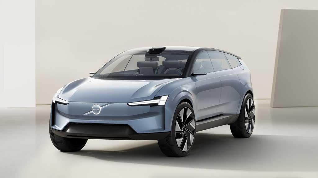 Концепт электрического кроссовера Volvo Concept Recharge 2022