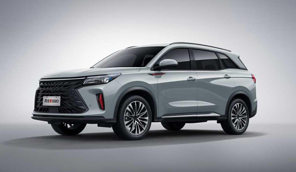 Кроссовер Dongfeng Fengon 580 2022 второго поколения
