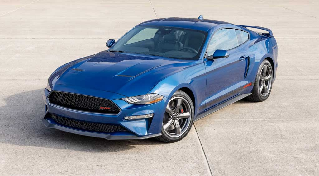 Фастбек Ford Mustang California Special 2022