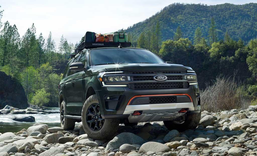 Обновленный внедорожник Ford Expedition 2022