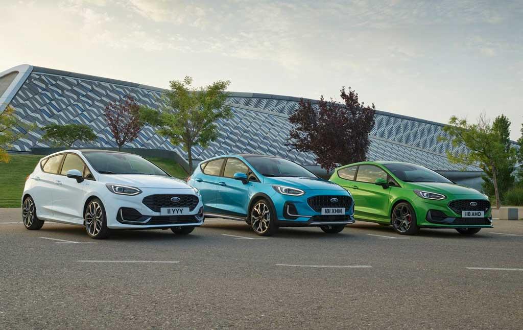 Обновленный хэтчбек Ford Fiesta 2022