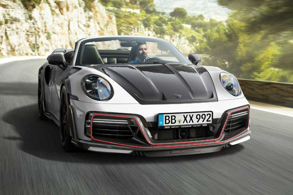 Кабриолет Porsche 911 Turbo GTstreet R