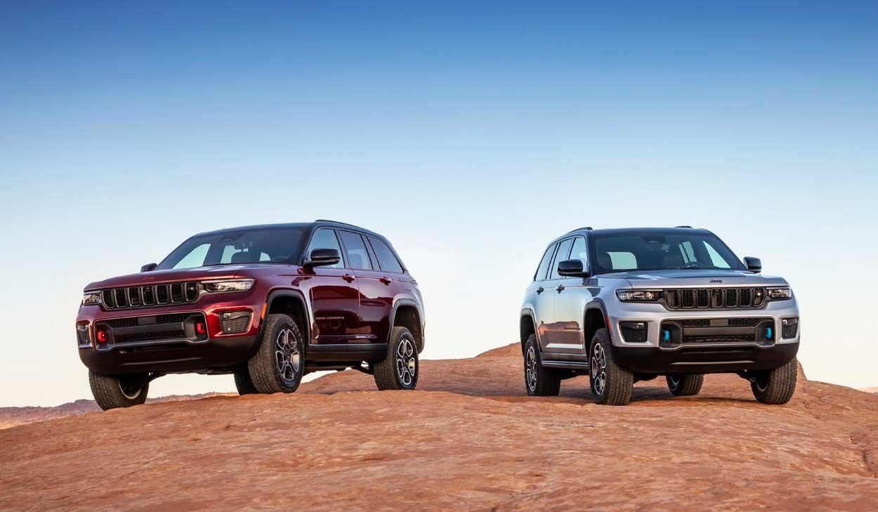 Пятиместный внедорожник Jeep Grand Cherokee 2022