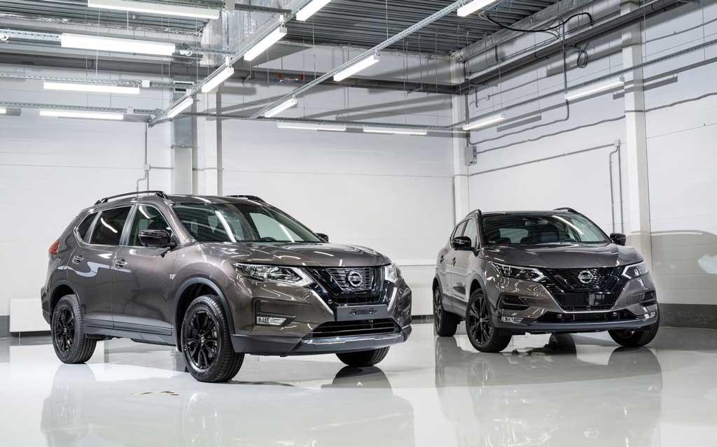 Кроссоверы Nissan Qashqai и X-Trail в вариации N-Design