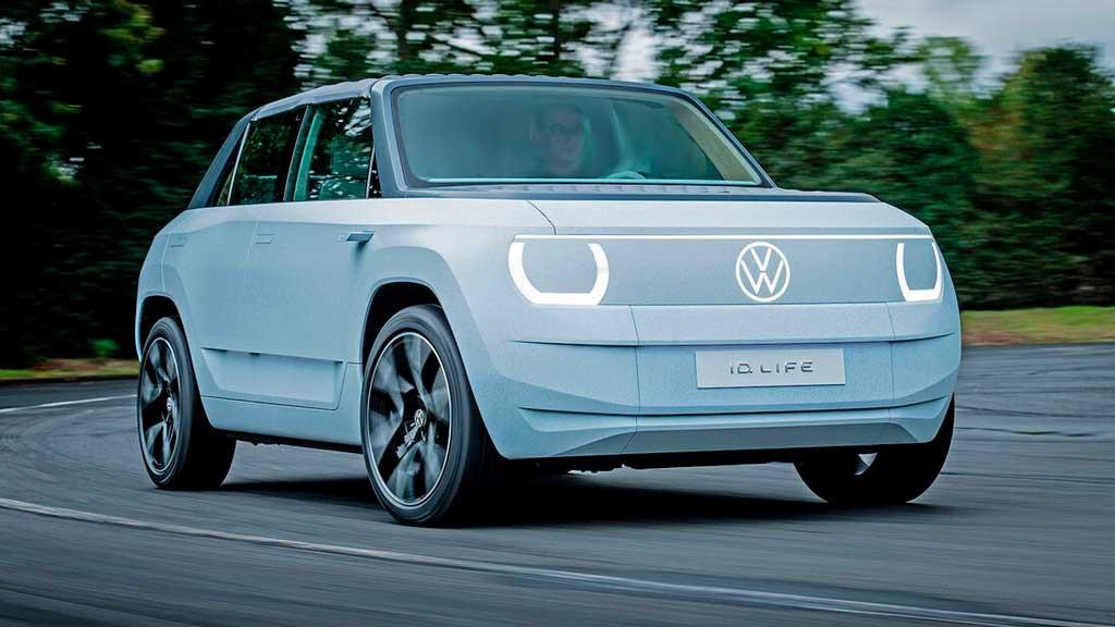 Прототип электрокара Volkswagen ID Life