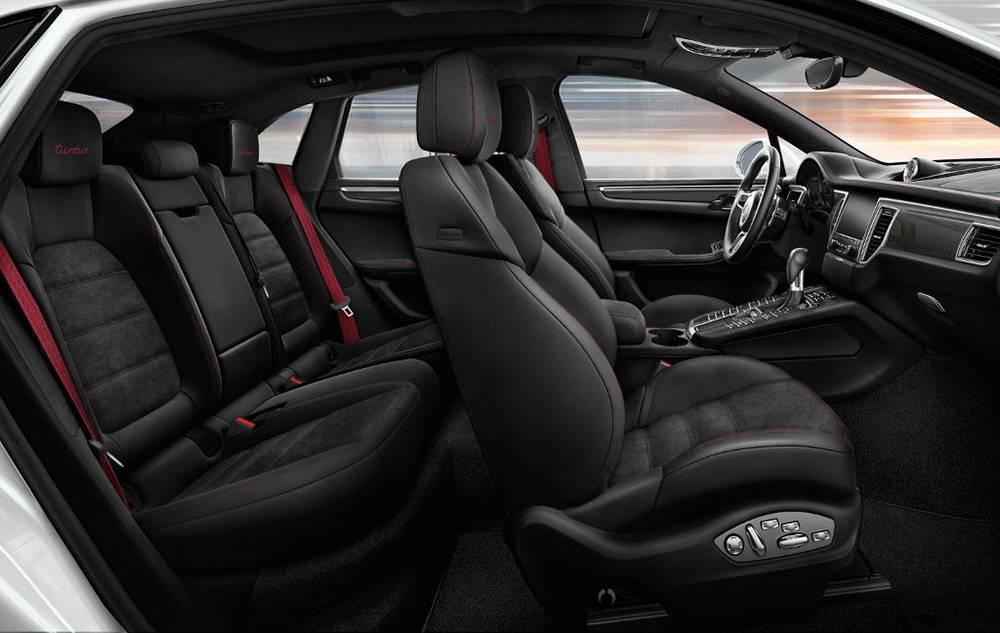 Интерьер Porsche Macan GTS 2016-2017 модельного года