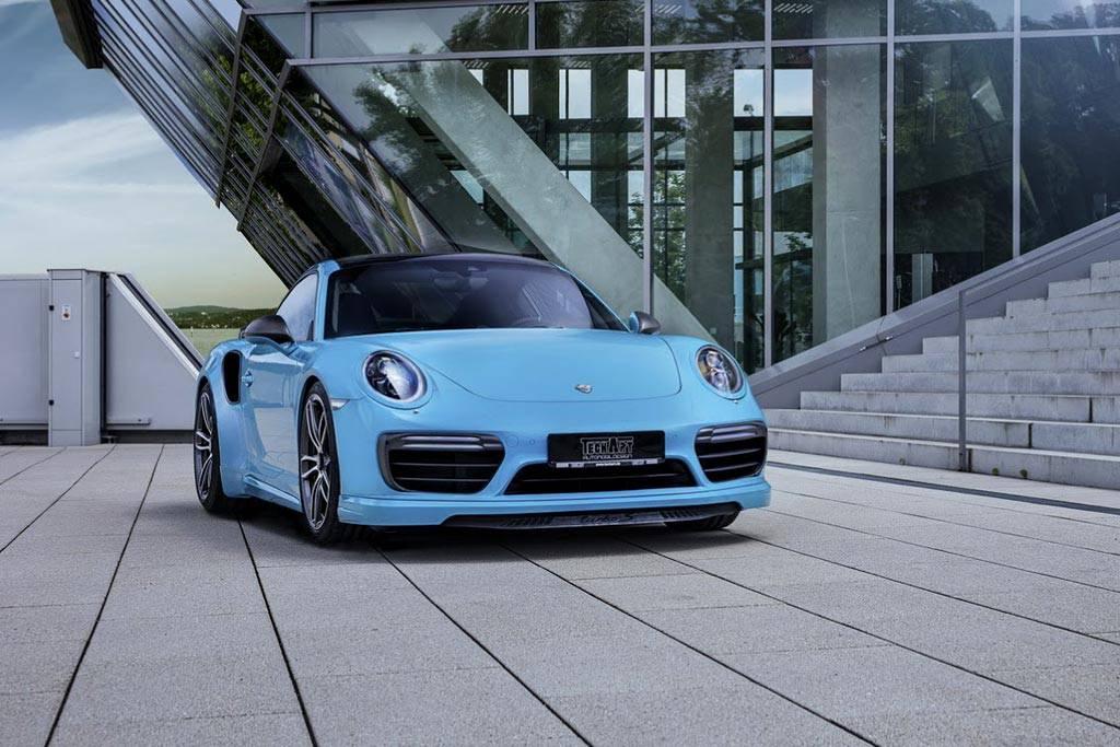 фото Porsche 911 от ателье TechArt