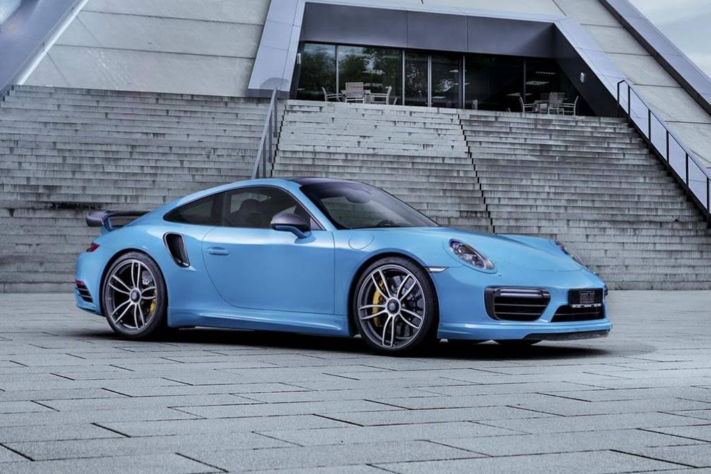 изображения Porsche 911 от ателье TechArt