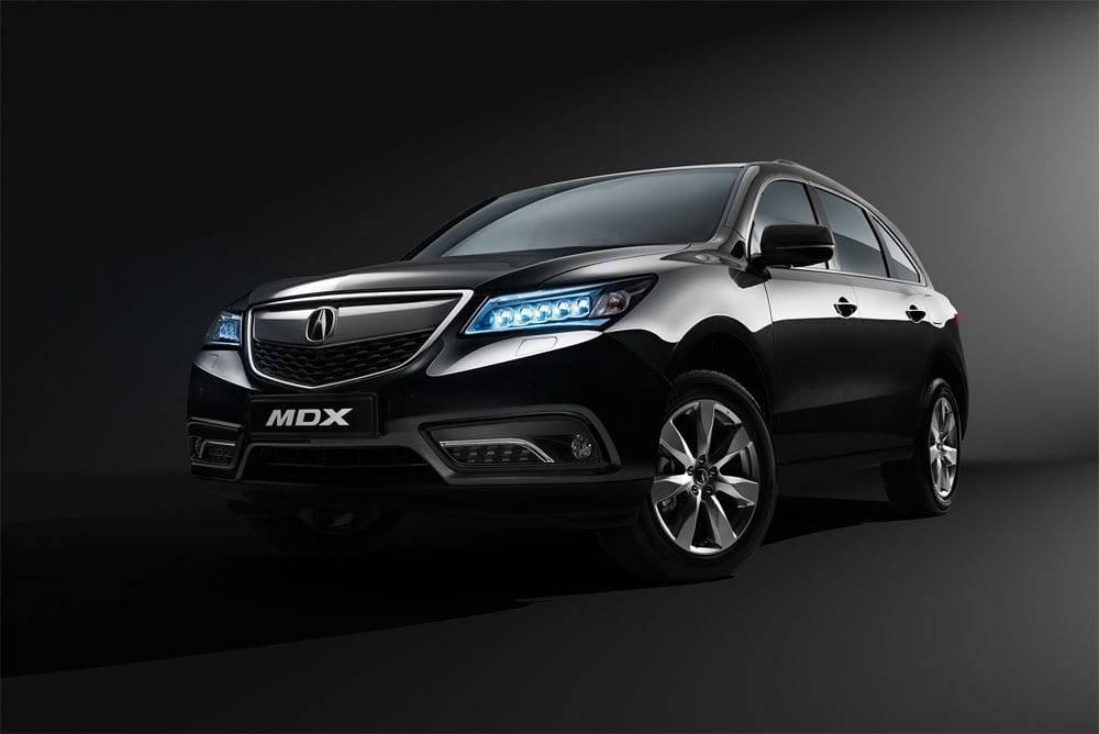 Acura MDX 2016-2017 модельного года - вид спереди