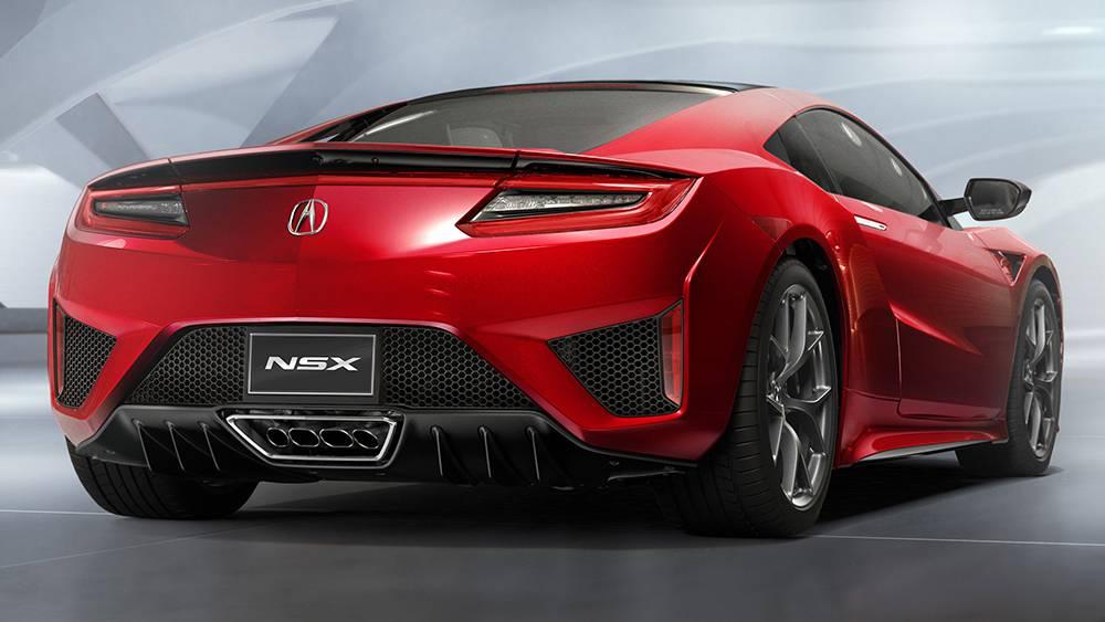 Фото Acura NSX 2016-2017 - вид сзади