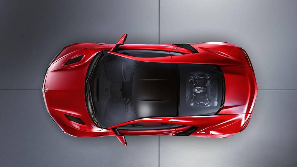 Фото Acura NSX 2016-2017 - вид сверху