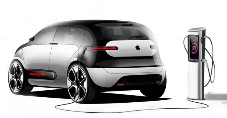 фото электрокар Apple Car 2019-2020